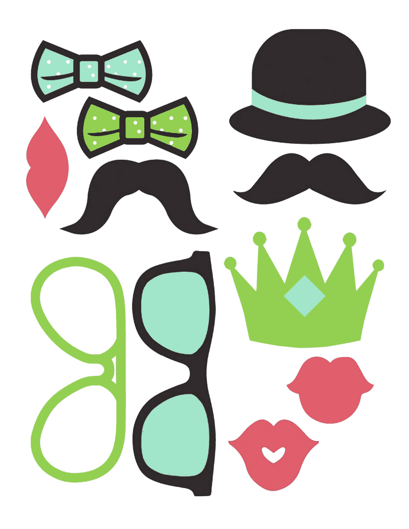 my fave free photo booth printables lisa of all trades
